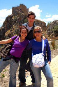 Las chichas de Turismo Alpujarra y Antonio