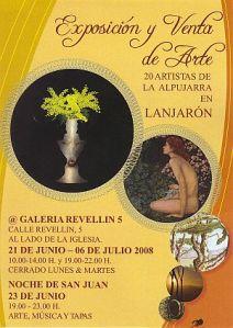 Exposición de Arte en Lanjarón