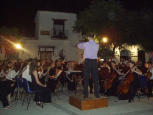 "Concierto de la ""City of Sheffield Youth Orchestra"" en Pitres"