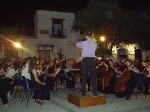 """Concierto de la """"City of Sheffield Youth Orchestra"""" en Pitres"""