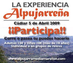 Media Maratón de La Alpujarra - Cádiar