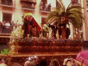 """Entrada de Jesús en Jerusalén: """"La Borriquilla"""""""