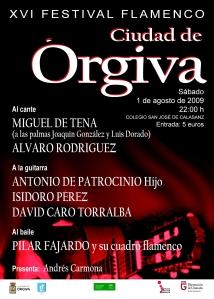 Cartel Flamenco Órgiva 09