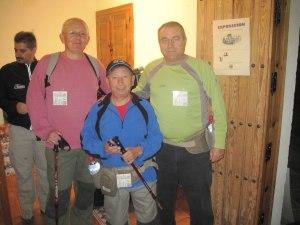 Más senderistas de Órgiva