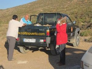 Camioneta de Cortijo Puerta Casas Rurales