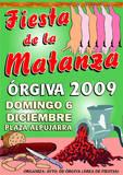 Fiesta Matanza Orgiva 2009