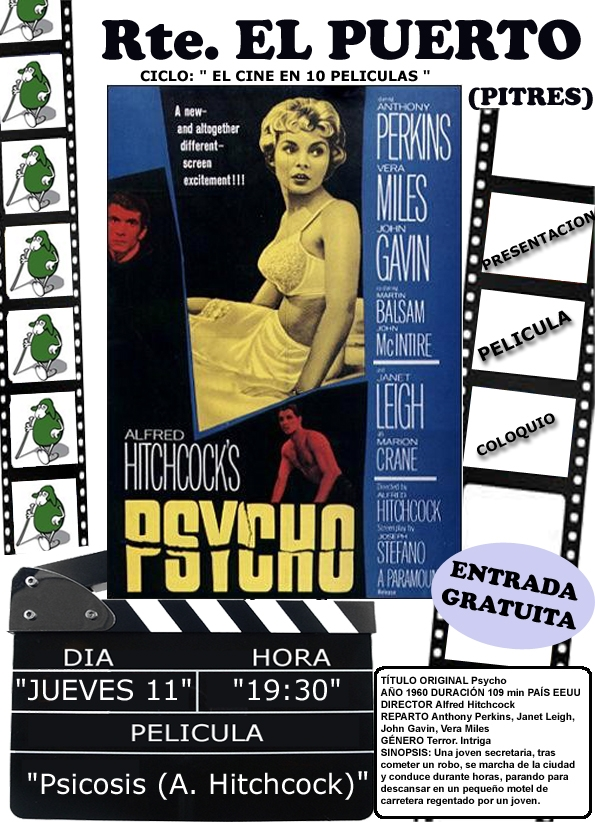 Cine en La Alpujarra: Psicosis