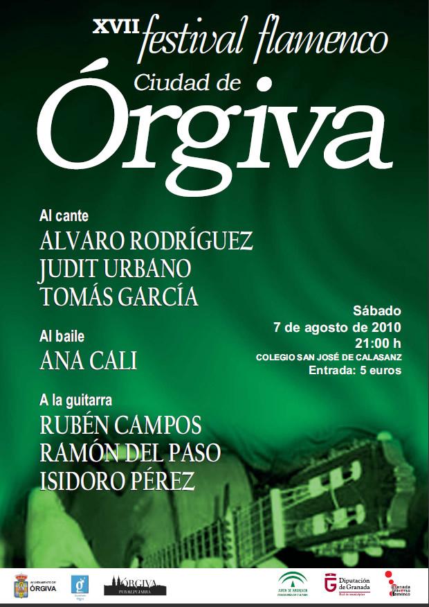 Festival Flamenco de Órgiva - Verano 2010