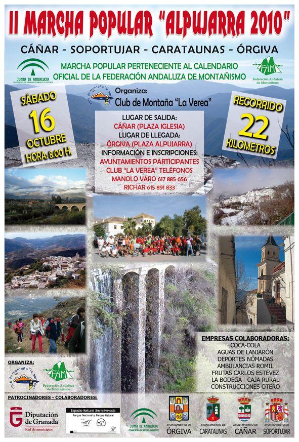 Marcha Popular Alpujarra 2010