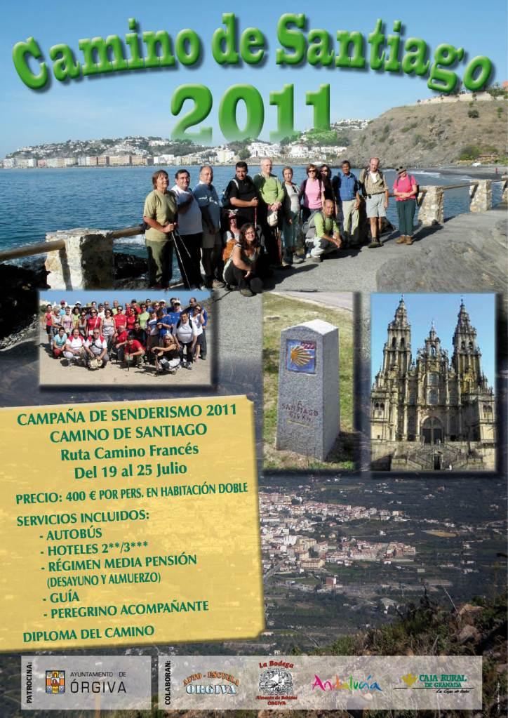 GRUPO SENDERISTA DE ÓRGIVA CAMINO DE SANTIAGO 2011