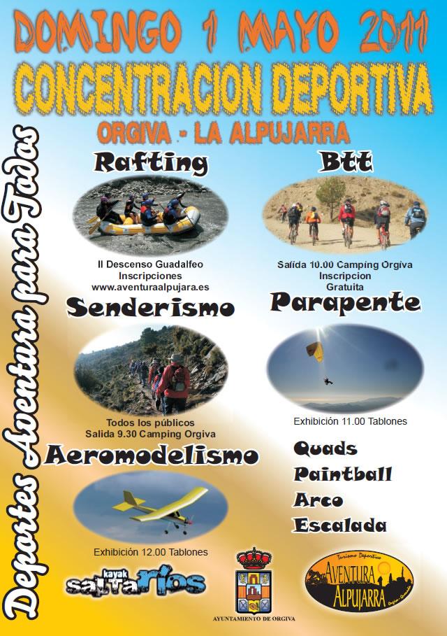 Concentración Deportiva Cartel