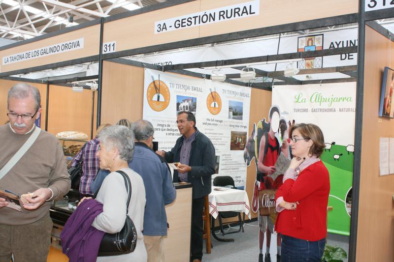 Gran éxito de asistencia en Hecho en la Alpujarra 2011