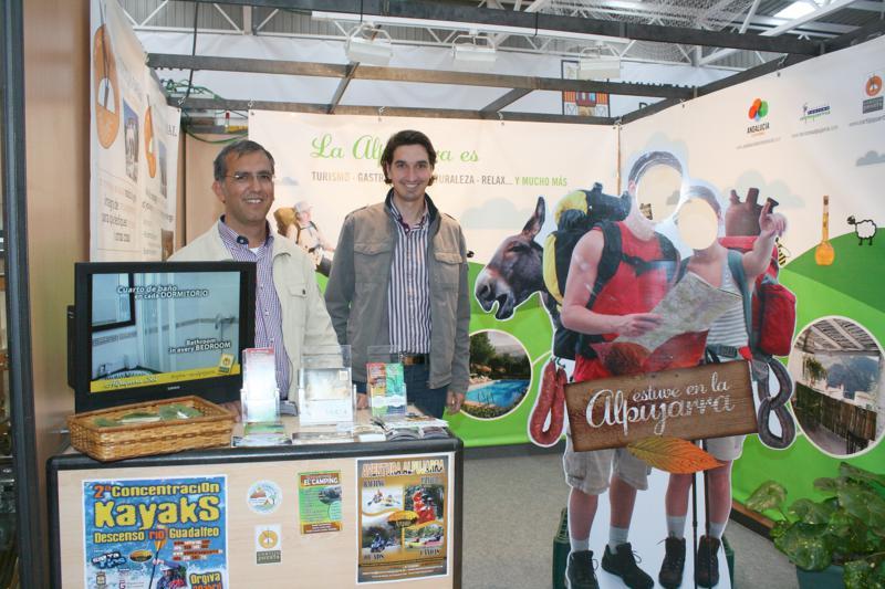 Ángel y Antonio en la Feria Hecho en la Alpujarra 2011
