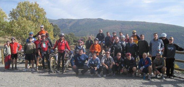 Paseos saludables en bici en Órgiva