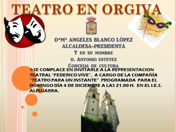 Teatro en Órgiva