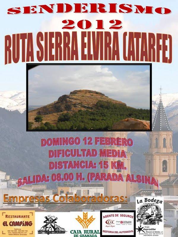 Grupo Senderista de Órgiva - Salida 12/02/2012