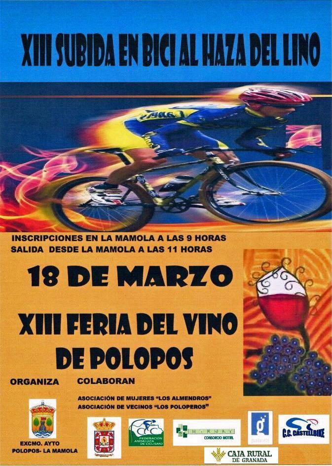 Subida bici Haza del Lino 2012