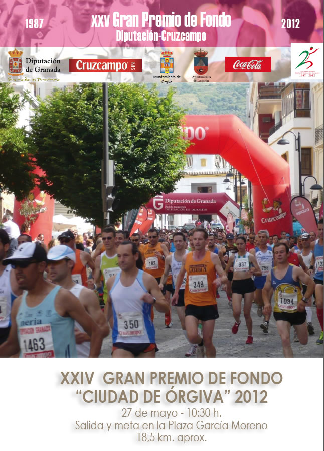 Gran Premio de Fondo Órgiva 2012 Anverso