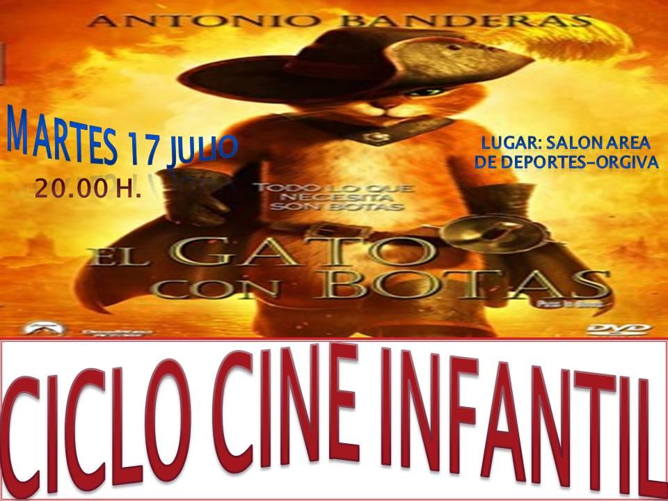 CICLO CINE INFANTIL EN ORGIVA