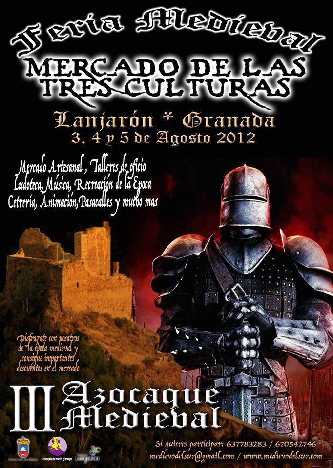 Mercado de las 3 Culturas - Lanjarón 2012