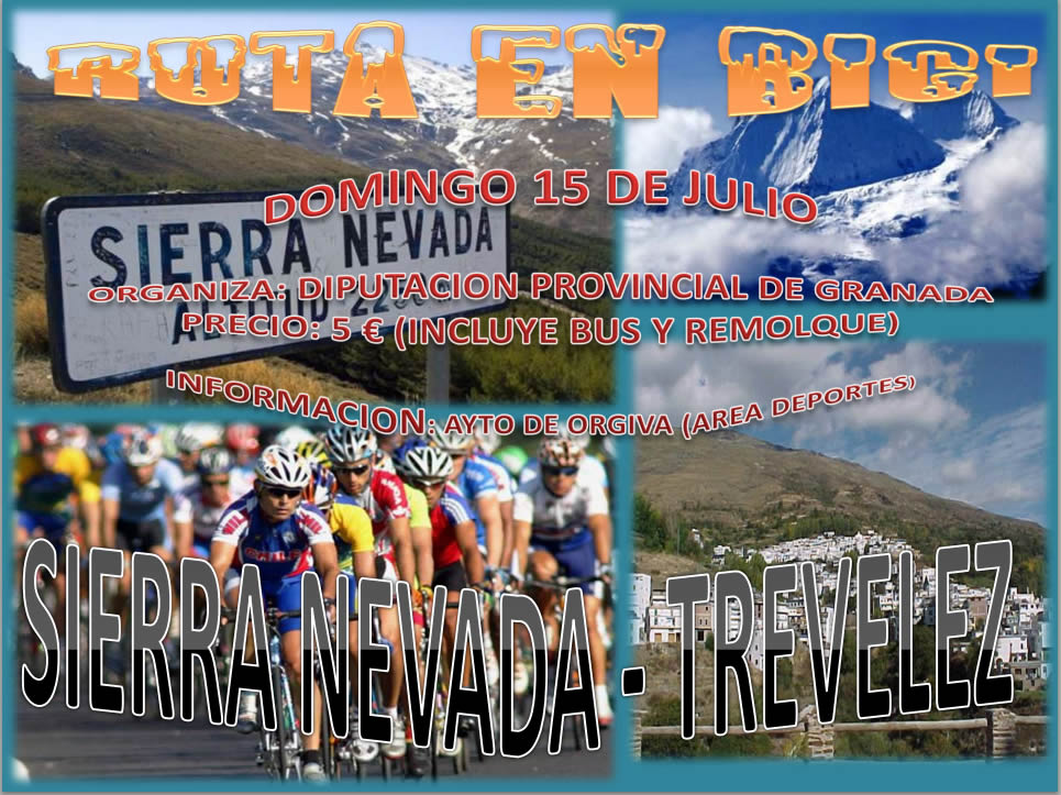 Ruta Bici 15 de Julio Sierra Nevada - Trevélez