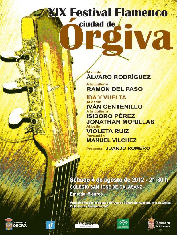 XIX Festival Flamenco de Órgiva 2012