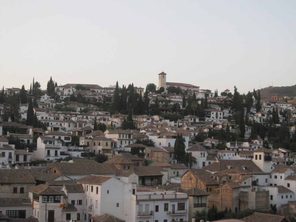Vista de el Albaicín