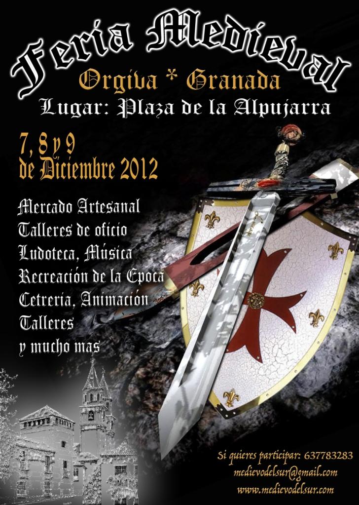 mercado medieval Orgiva 2012