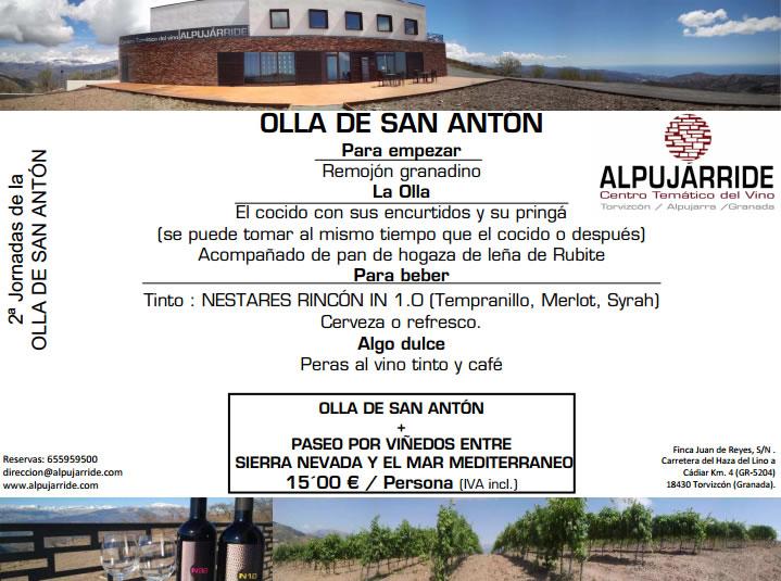 Olla de San Antón en Alpujárride