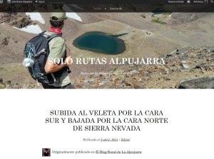 Blog de rutas de senderismo y 4x4 en la Alpujarra.